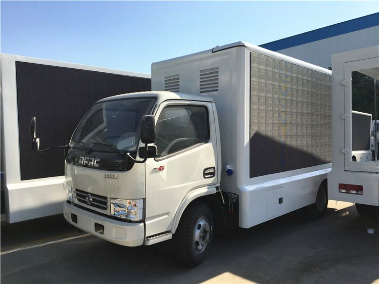 Dongfeng DFAC small led display truck