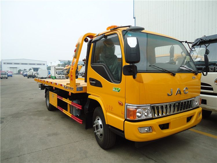 JAC flatbed wrecker towing truck (4T)
