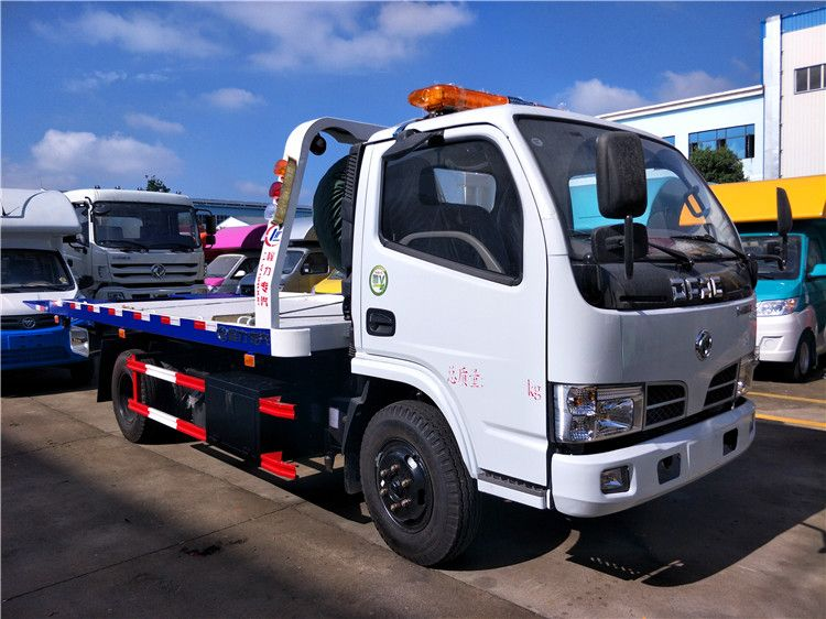 DFAC flat bed towing truck (3T)