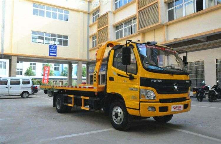 Foton flatbed wrecker towing truck (3T)