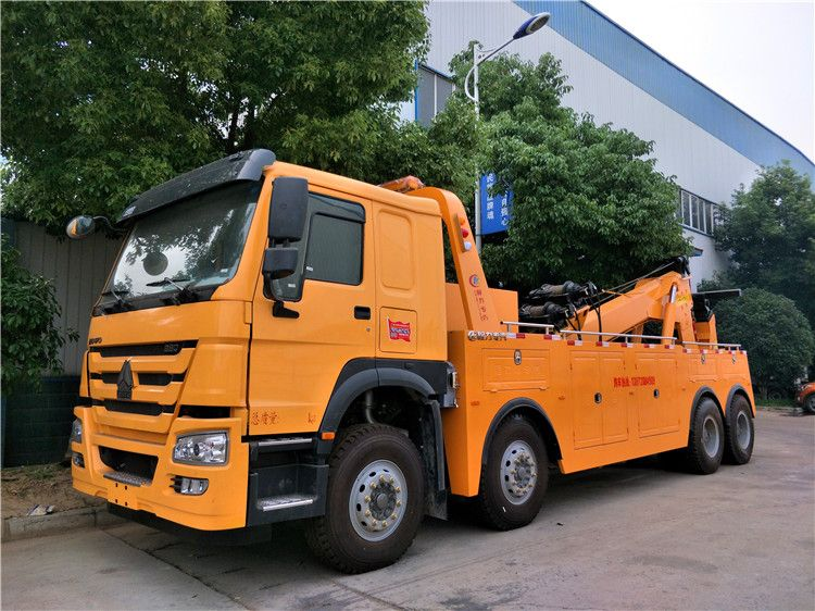 HOWO Heavy Duty Wrecker Towing Truck