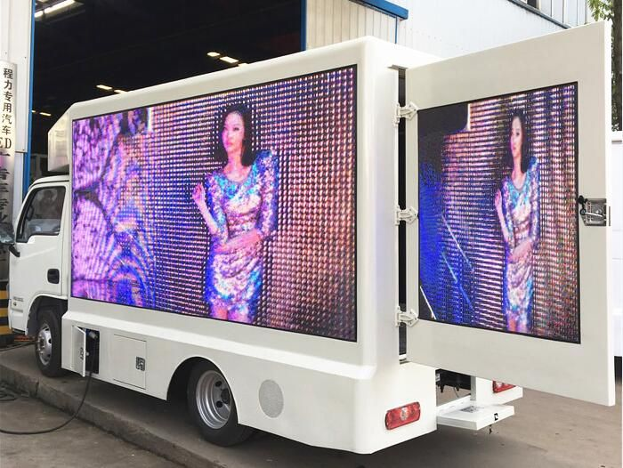 YUEJIN mini led advertising truck